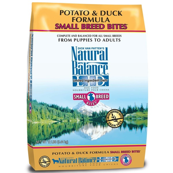 Natural Balance Potato & Duck Formula Small Breed Bites