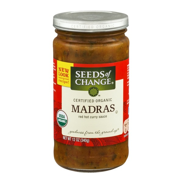 Seeds of Change Madras Red Hot Curry Sauce