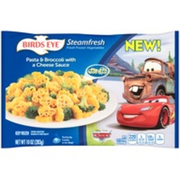 Steamfresh Disney Pixar Cars Pasta & Broccoli with a Cheese Sauce Entree