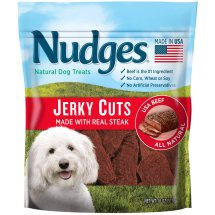 Nudges Steak Jerky Dog Treats, 18 oz.