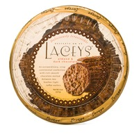 Laceys Toffee Wafers, Almond & Dark Chocolate