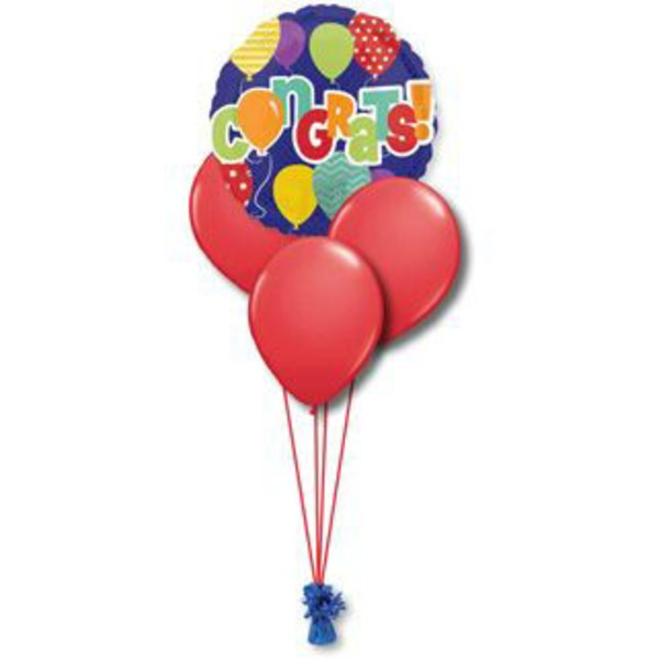 Congratulations Petite Balloon Bouquet