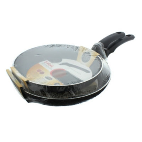 T-Fal 9 & 11 Inch Soft Handles Black Fry Pan Set