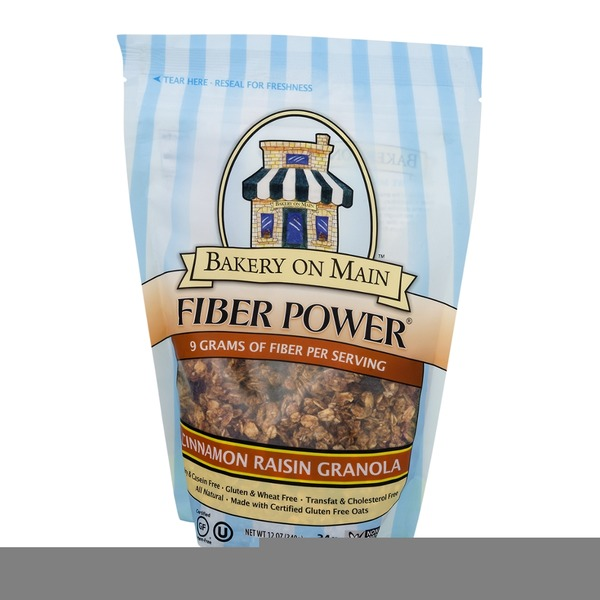 Bakery on Main Fiber Power Granola Cinnamon Raisin