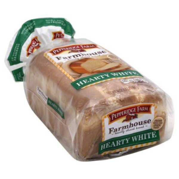 H-E-B Pepperidge Farm Fresh Bakery Farmhouse Hearty White Bread