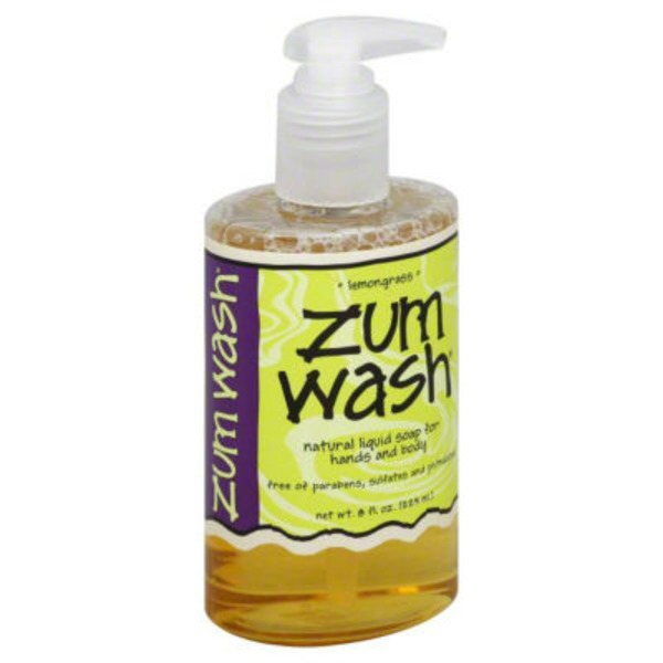 Zum Wash Lemongrass Liquid Soap