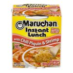 Maruchan Instant Lunch Ramen Noodle Soup Chili Piquin & Shrimp, 2.25 OZ