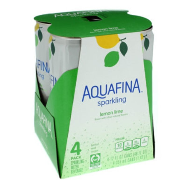 Aquafina Sparkling Lemon Lime Sparkling Water Beverage