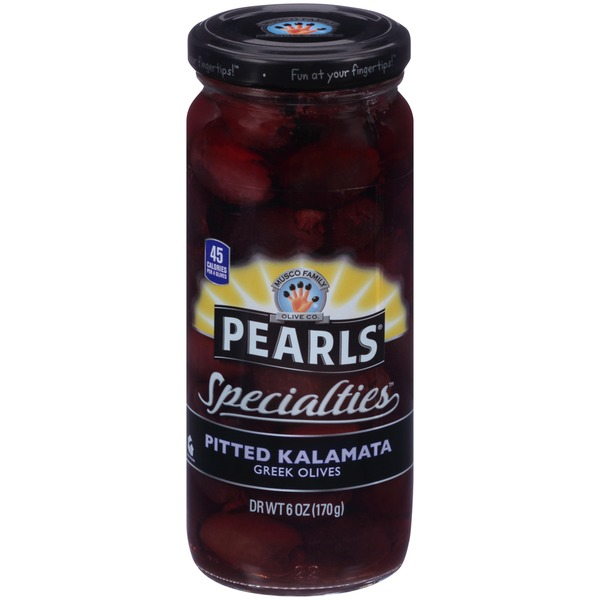 Pearls Specialties Pitted Kalamata Olives