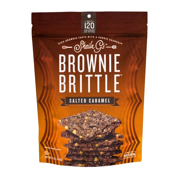 Shelia G's Sheila G's Brownie Brittle Salted Caramel