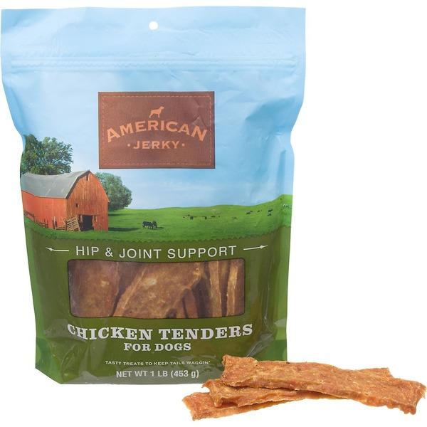 American Jerky Hip and Joint Support Chicken Tenders Dog Treats