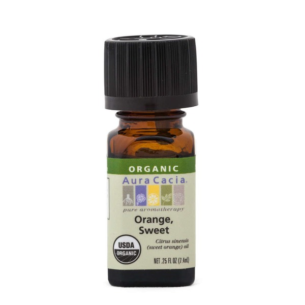 Aura Cacia Organic Orange Sweet Essential Oil
