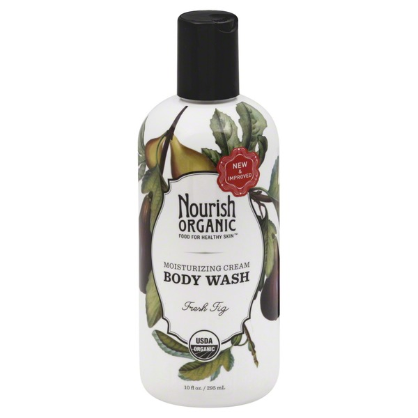 Nourish Organic Moisturizing Cream Body Wash Fresh Fig