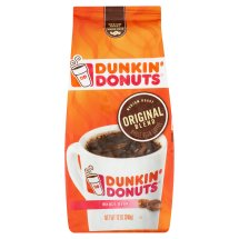 Dunkin' Donuts Original Blend Medium Roast Whole Bean Coffee, 12 oz