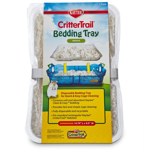 Kaytee CritterTrail Medium Bedding Tray