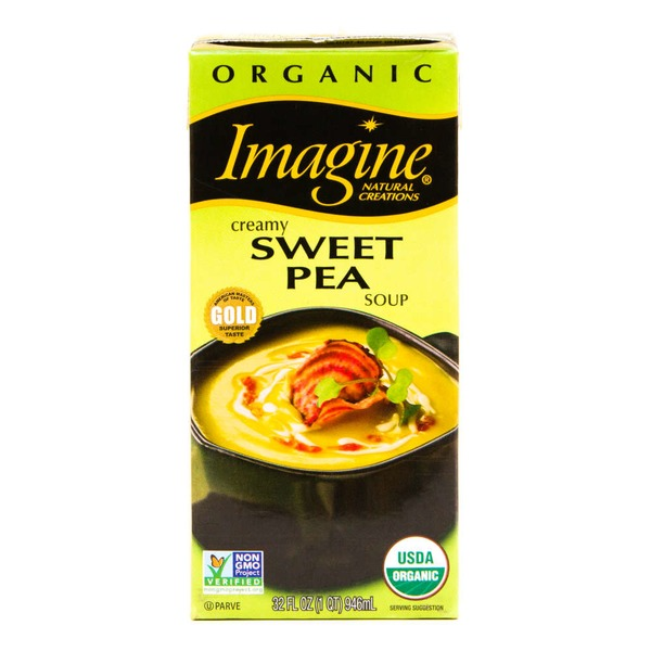 Imagine Foods Organic Creamy Sweet Pea Soup