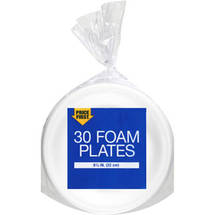 Price First Foam Plates