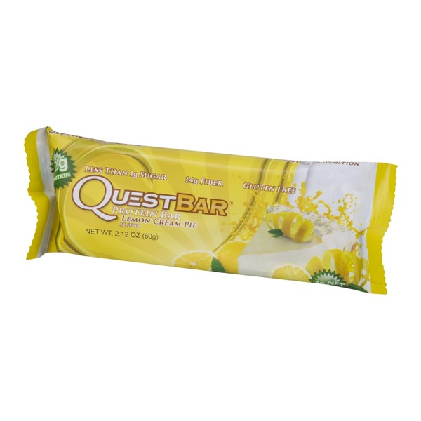 QuestBar Protein Bar Lemon Cream Pie
