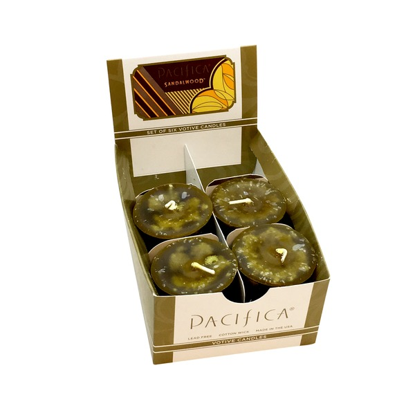 Pacifica Sandalwood Votive Candle