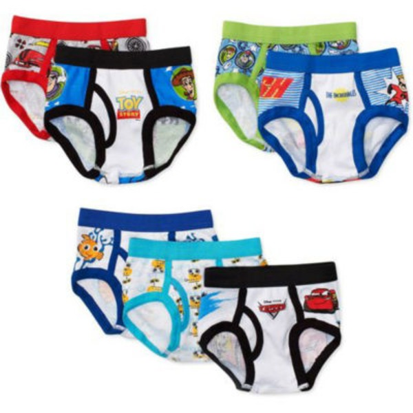 Disney 2 T/3 T Pixar Toddler Boys Briefs