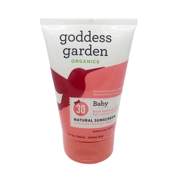 Goddess Garden Organic Natural Baby Sunscreen 30 SPF