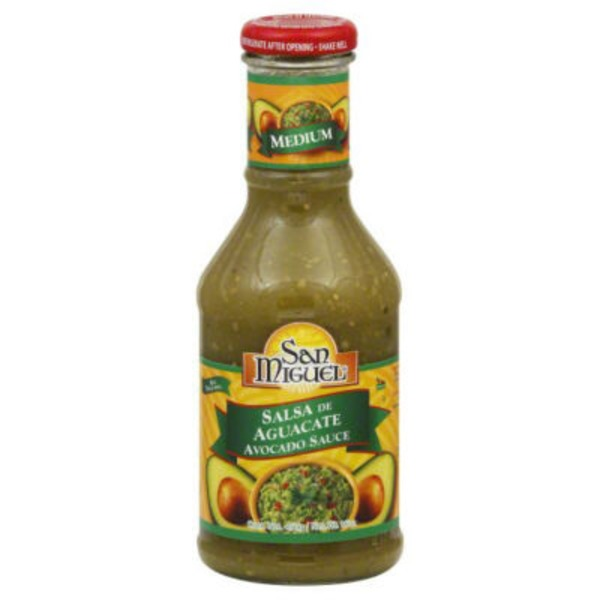 San Miguel Medium Avocado Sauce