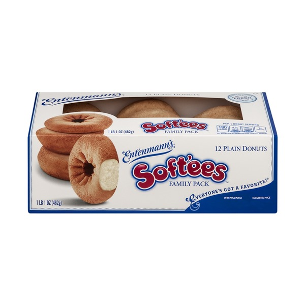 Entenmann's French Toast Soft'ees Donuts Variety Pack - 12 CT