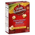Orville Redenbacher's Movie Theater Butter Popcorn, Single Serve Bag, 12-Count