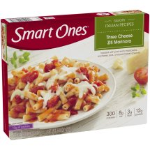 Smart Ones® Savory Italian Recipes Three Cheese Ziti Marinara 9 oz. Box