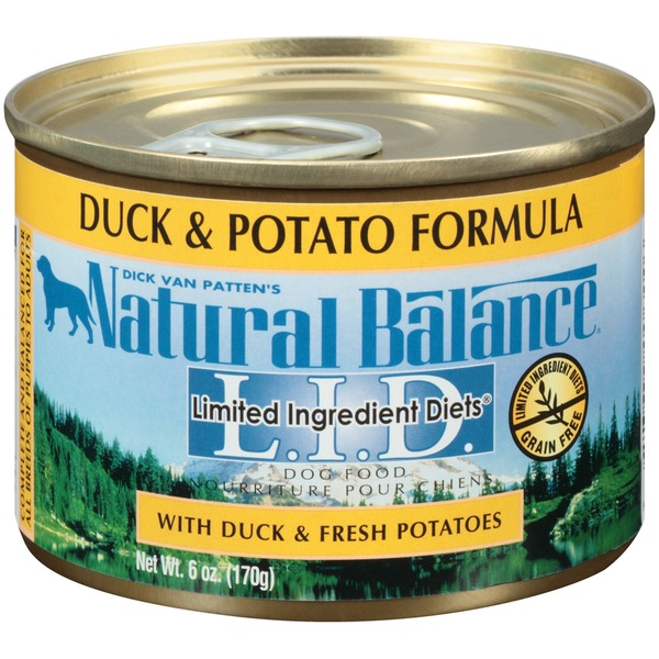 Natural Balance L.I.D Duck & Potato Formula Dog Food