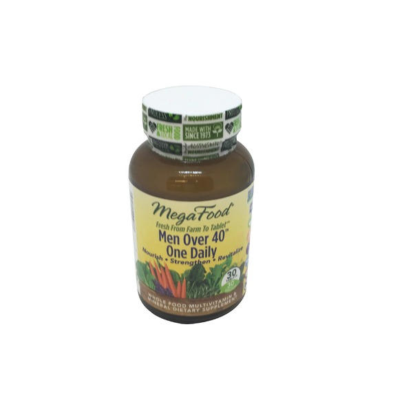 MegaFood Dailyfoods Men Over 40 One Daily Tablet