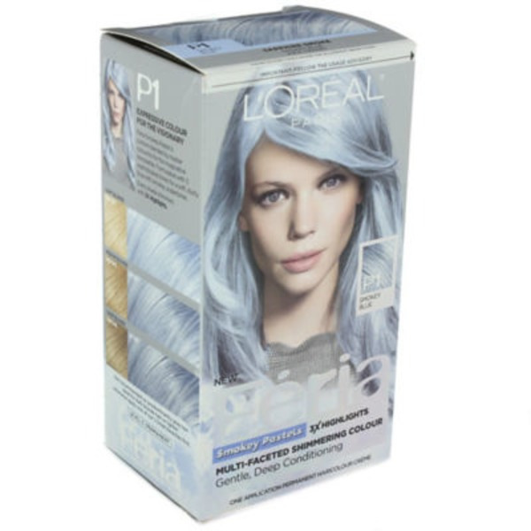 Feria Smokey Pastels P1 Smokey Blue Hair Color