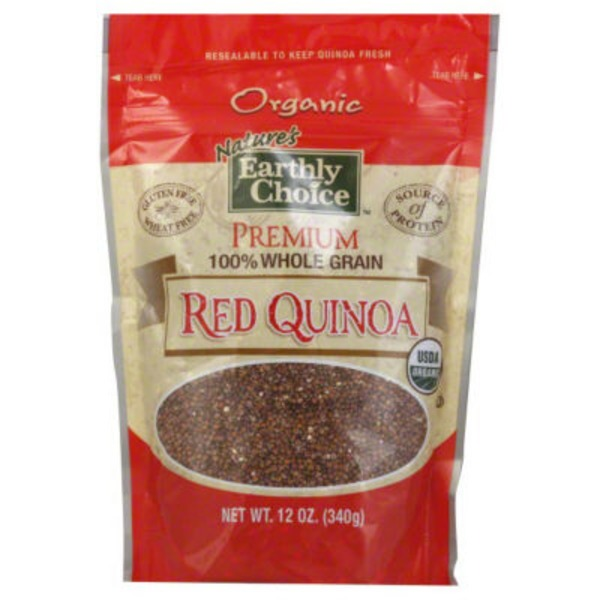 Nature's Earthly Choice Organic Red Quinoa