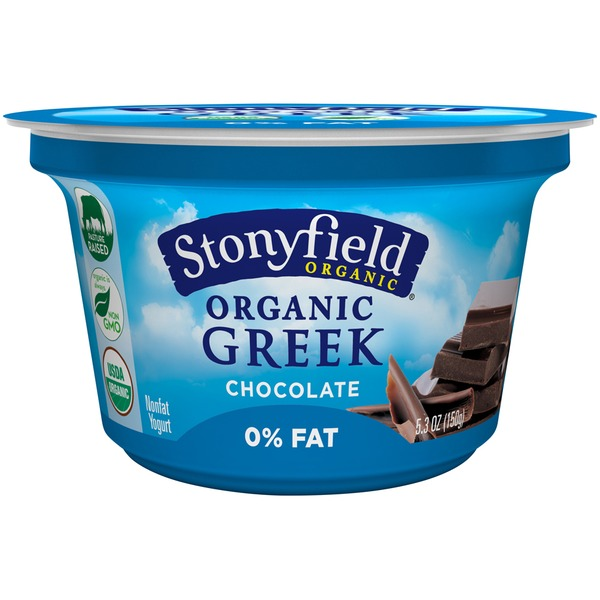 Stonyfield Organic Organic Greek Chocolate Nonfat Yogurt