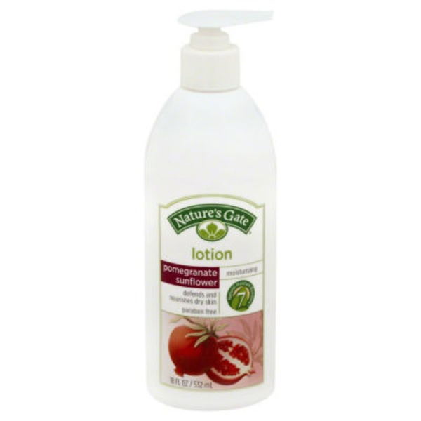 Nature's Gate Lotion Pomegranate Sunflower