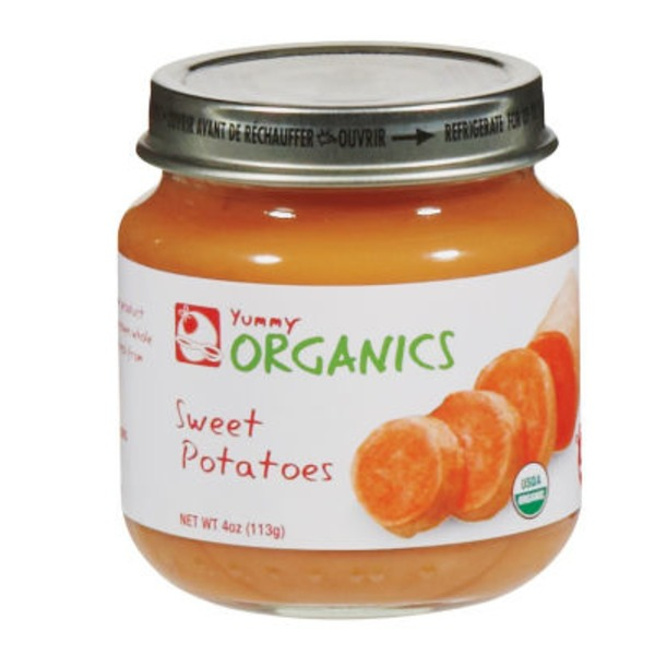 Yummy Organics 2nd Foods Sweet Potatoes Baby Food