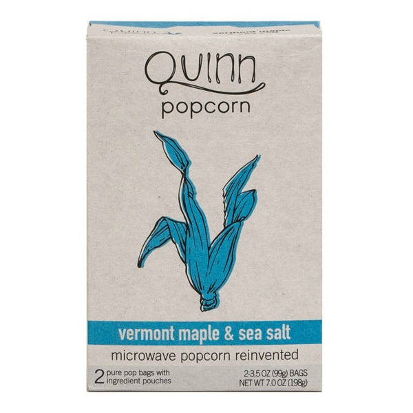 Quinn Popcorn Vermont Maple and Sea Salt