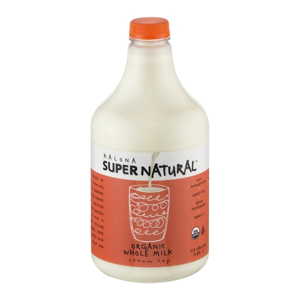 Kalona Super Natural Organic Whole Milk
