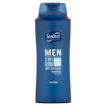 Suave Men Classic Clean 2in1 AntiDandruff Shampoo & Conditioner 28 oz