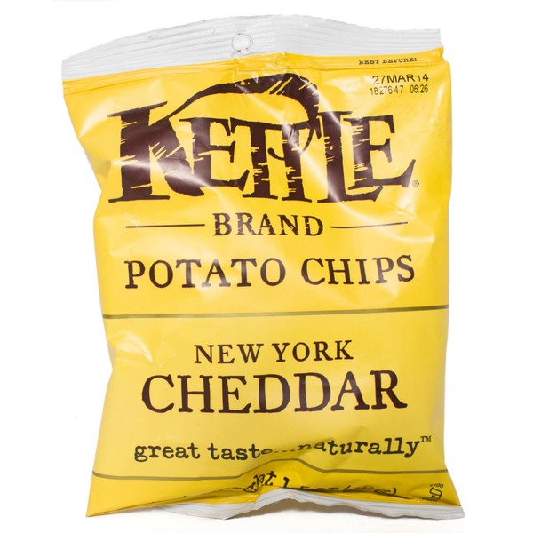 Kettle Brand® New York Cheddar Potato Chips