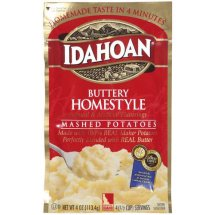 Idahoan: Buttery Homestyle Mashed Potatoes, 4 Oz