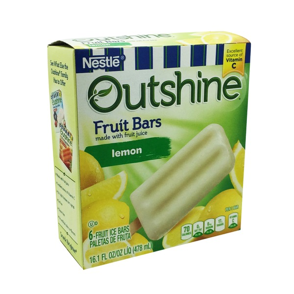 Outshine Lemonade Fruit Bars