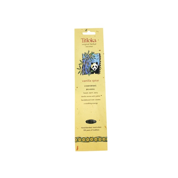 Triloka Vanilla Spice Herbal Incense Sticks