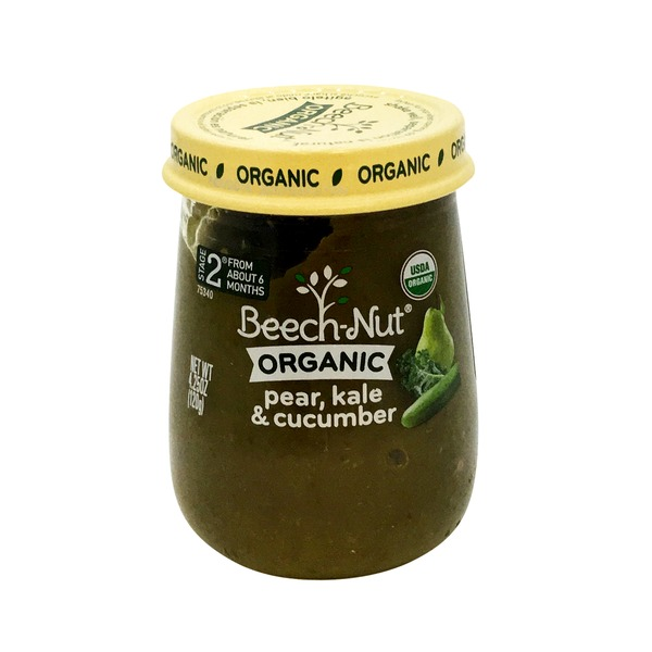 Beech-Nut Organic Stage 2 Pear, Kale & Cucumber