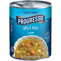 Progresso Traditional Soup, Split Pea with Ham, 19 Oz
