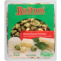 Buitoni Freshly Made. Filled with Creamy Ricotta, Aged Parmesan and Romano Cheeses Mixed Cheese Tortellini