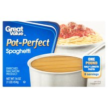 Great Value Pot-Perfect Spaghetti, 16 oz