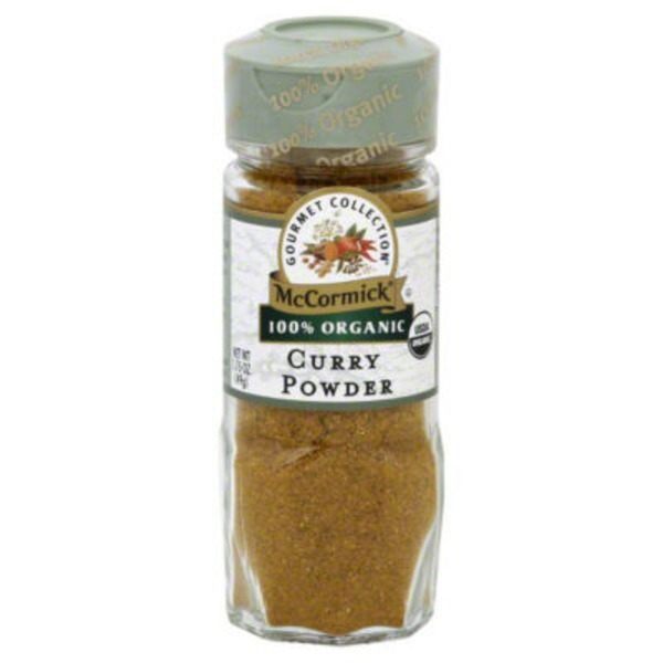 McCormick Gourmet Collection Organic Curry Powder