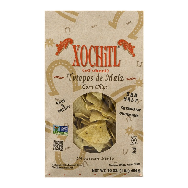 Xochitl Mexican Style Stone-Ground Corn Chips