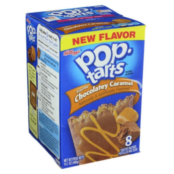 Kellogg's Pop-Tarts Frosted Chocolatey Caramel Toaster Pastries